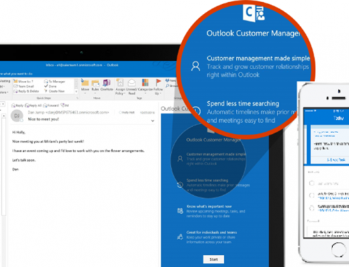 The New Outlook Customer Manager
