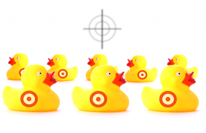 Sitting duck for cyber criminals