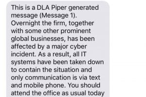 DLA Piper Error