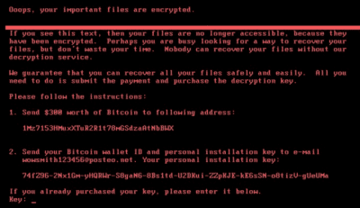 Are your files encrypted?