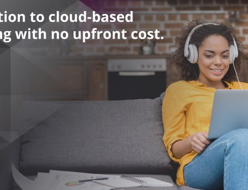 You Need the Cloud — Get It NOW with No Upfront Cost