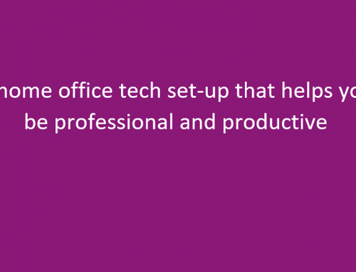 Home office technology ideas to increase productivity