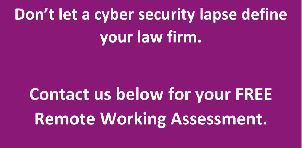 How Pro Drive can help de-risk remote working as part of your law firm cyber security