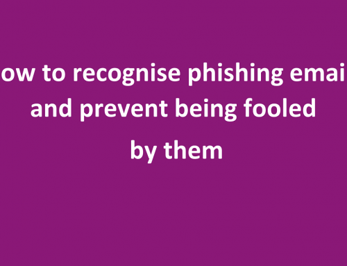 Phishing emails – how to prevent being hacked