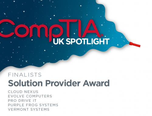 We're finalists in the CompTIA Spotlight Awards 2021!